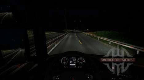 Le changement de météo pour Euro Truck Simulator 2