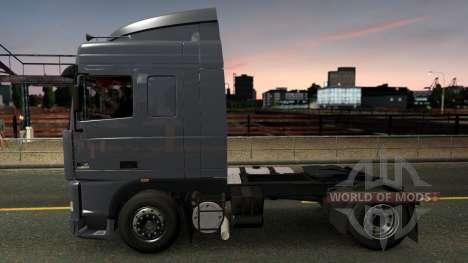DAF 95XF SpaceCab & Interior pour Euro Truck Simulator 2