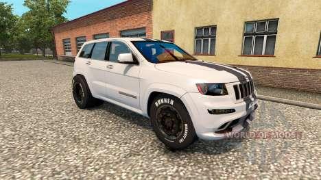 Jeep Grand Cherokee SRT8 v1.2 pour Euro Truck Simulator 2