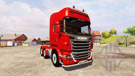 Scania R730 Topline v2.2 für Farming Simulator 2013