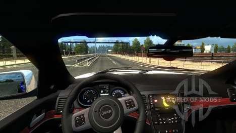 Jeep Grand Cherokee SRT8 für Euro Truck Simulator 2