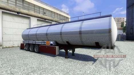 Anhänger Techno Chemikalien für Euro Truck Simulator 2