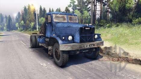 KRAZ-258 4x2 für Spin Tires