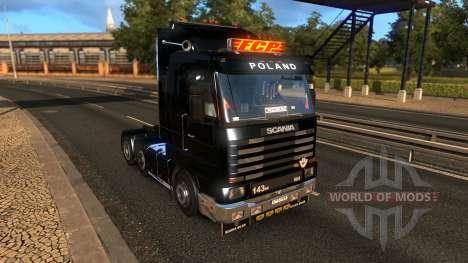 Scania 143M 3.2 für Euro Truck Simulator 2