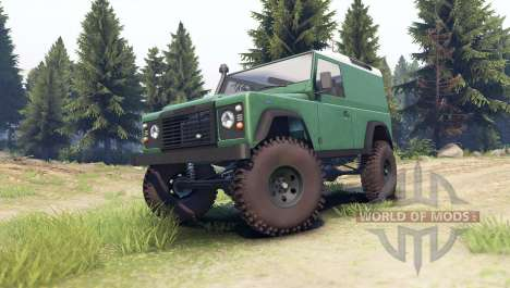 Land Rover Defender 90 [hard top] pour Spin Tires