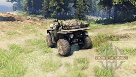ATV pour Spin Tires