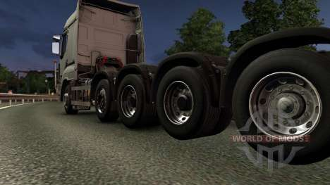 Sisu R500 pour Euro Truck Simulator 2