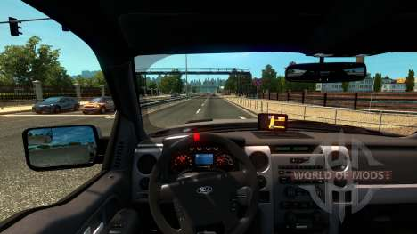 Ford F-150 SVT Raptor pour Euro Truck Simulator 2