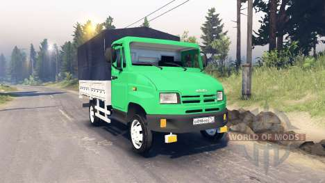 ZIL-5301 für Spin Tires