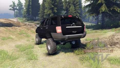 Jeep Grand Cherokee ZJ für Spin Tires