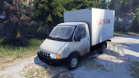 GAZ-3302 Gazelle pour Spin Tires