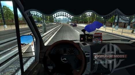 Sprinter Mega Mod v1 pour Euro Truck Simulator 2