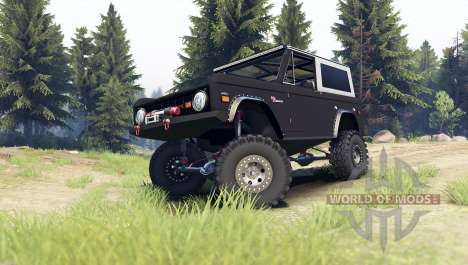 Ford Bronco 1966 [black] für Spin Tires