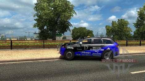 Jeep Grand Cherokee SRT8 pour Euro Truck Simulator 2
