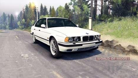 BMW M5 (E34) 1995 v1.1 für Spin Tires