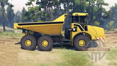 Liebherr Dump Truck v0.01 pour Spin Tires