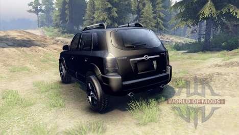 Hyundai Tucson für Spin Tires