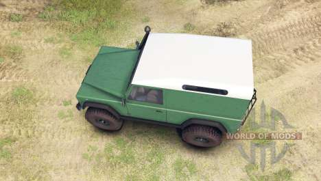 Land Rover Defender 90 [hard top] für Spin Tires