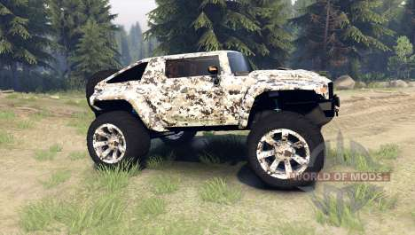 Hummer HX v2.0 pour Spin Tires