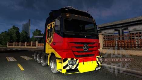 Mercedes-Benz Actros 4160 SLT 8x4 Titan pour Euro Truck Simulator 2