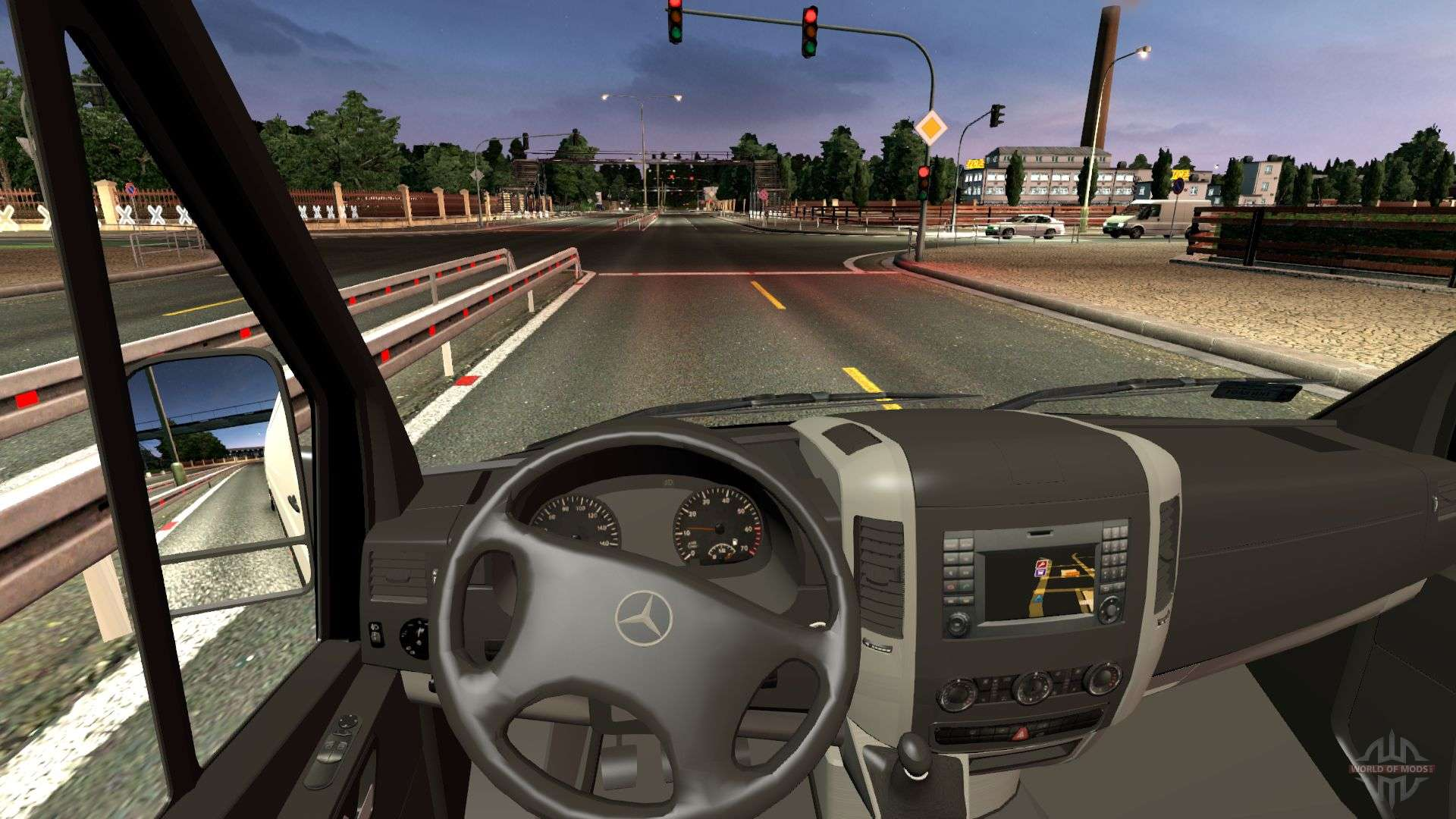 Mercedes Benz Sprinter Cdi311 2014 F 252 R Euro Truck Simulator 2