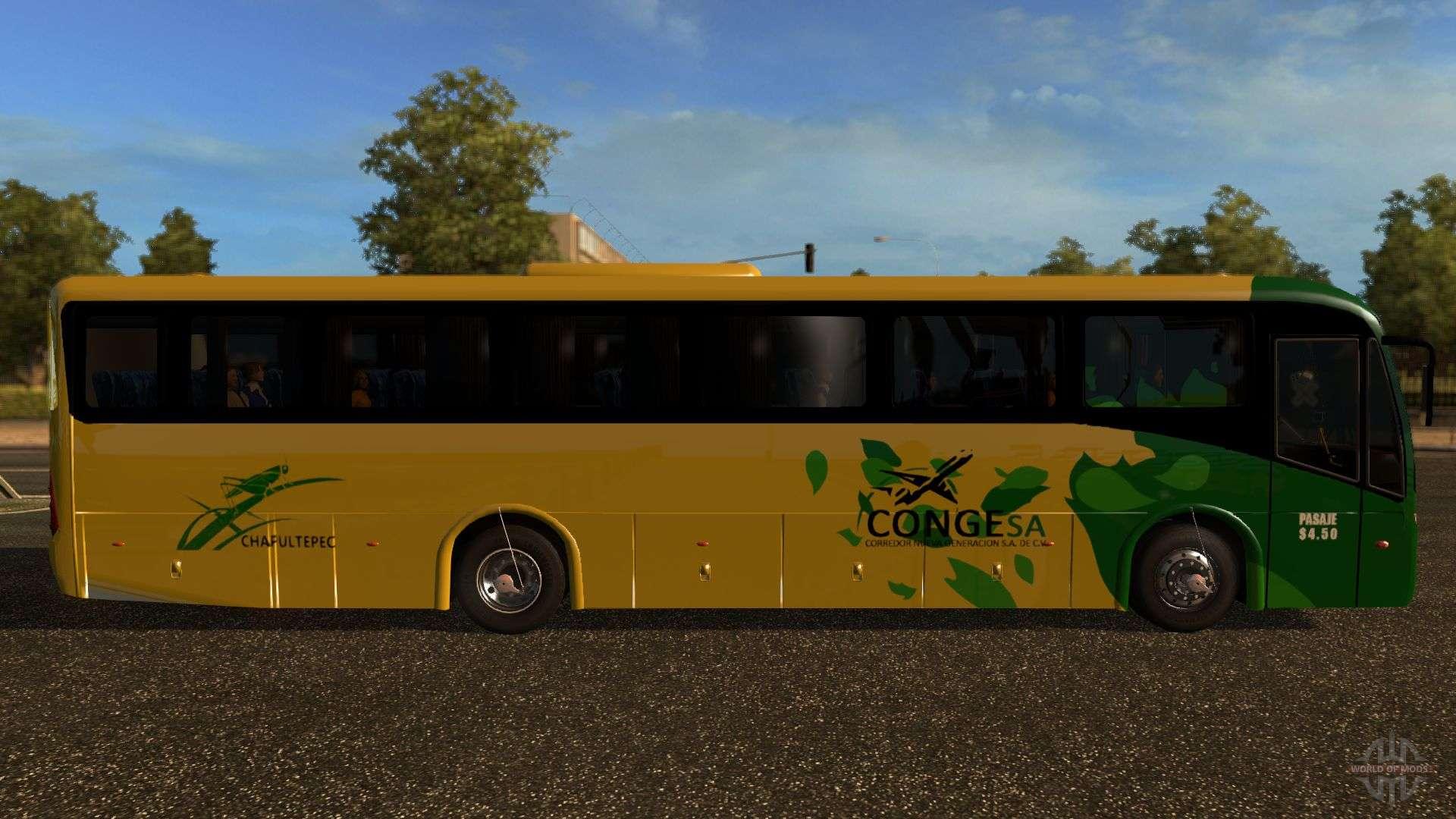 volkswagen marcopolo ideale 770 f r euro truck simulator 2. Black Bedroom Furniture Sets. Home Design Ideas