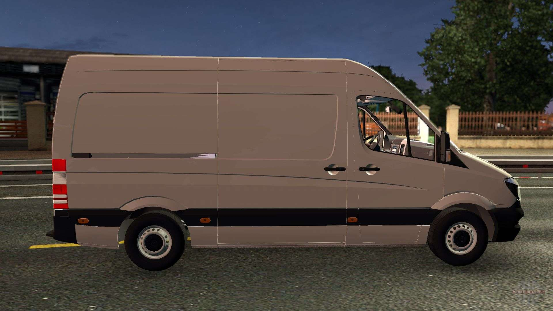 Mercedes benz sprinter cdi311 2014 pour euro truck simulator 2 for 2014 mercedes benz truck