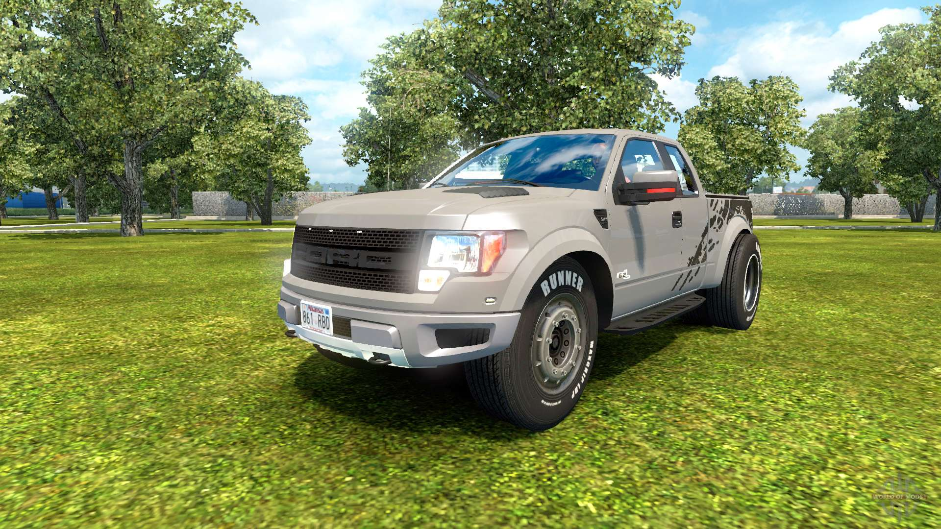 ford f 150 svt raptor 2012 v2 0 f r euro truck simulator 2. Black Bedroom Furniture Sets. Home Design Ideas