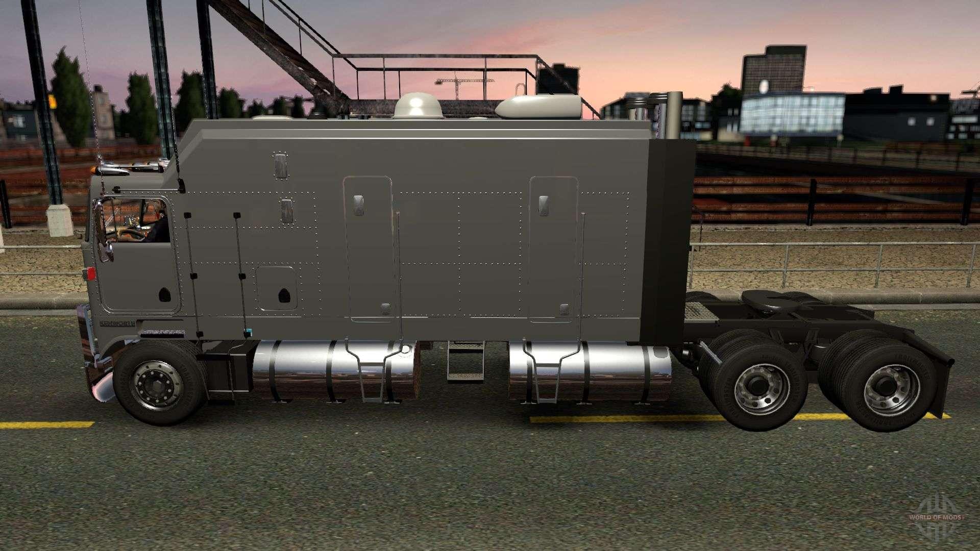 kenworth k100 long frame f r euro truck simulator 2. Black Bedroom Furniture Sets. Home Design Ideas