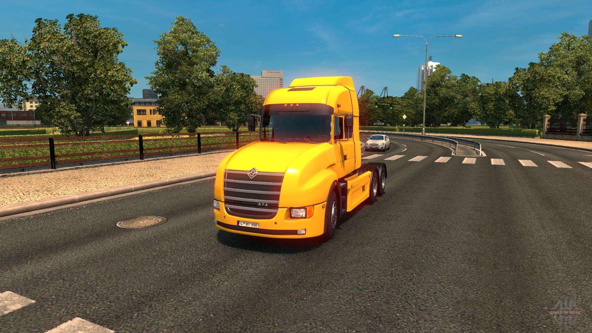 ural 6464 f r euro truck simulator 2. Black Bedroom Furniture Sets. Home Design Ideas