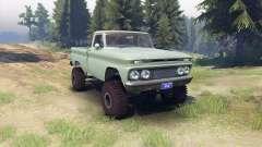 Chevrolet С-10 1966 Benutzerdefinierte zwei-Ton-