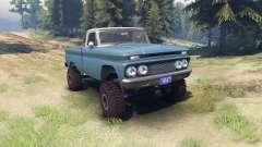 Chevrolet С-10 1966 Personnalisé de deux tons ma