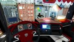 Innen rot Scania