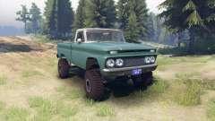 Chevrolet С-10 1966 Personnalisé de deux tons tr
