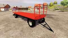 Der trailer Agroliner Ballen