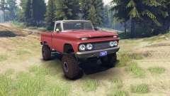 Chevrolet С-10 1966 Personnalisé de deux tons br