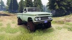 Chevrolet С-10 1966 Personnalisé de saule vert