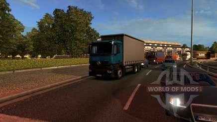 Mersedes-Benz Antos 12 pour Euro Truck Simulator 2