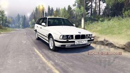 BMW 525iX (E34) Touring pour Spin Tires
