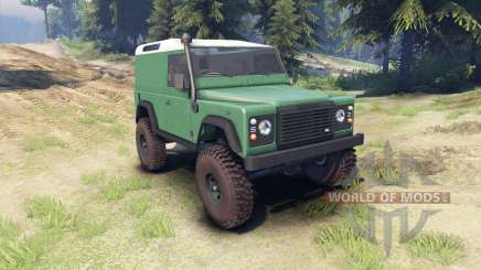 Land Rover Defender 90 [hard top] für Spin Tires