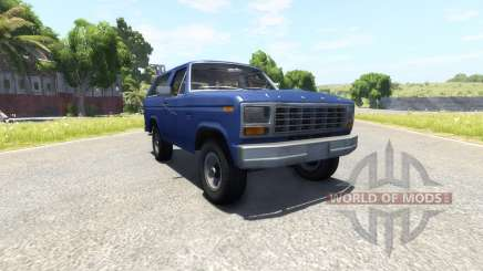Ford Bronco 1980 pour BeamNG Drive