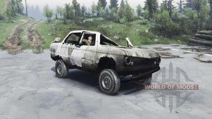 ZAZ-968 M für Spin Tires