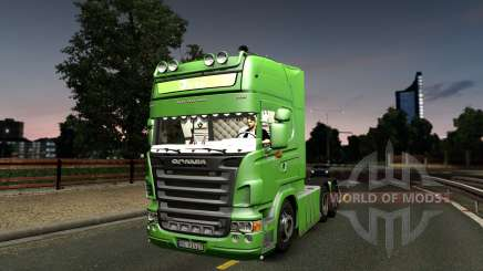 Scania R620 Bring 2.0 pour Euro Truck Simulator 2
