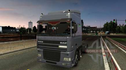 DAF 95XF SpaceCab & Interior für Euro Truck Simulator 2