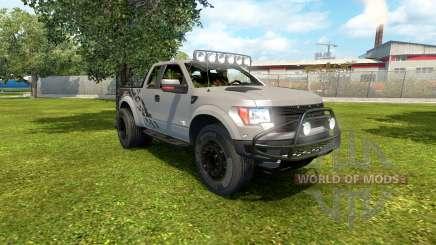Ford F-150 SVT Raptor 2012 v2.0 pour Euro Truck Simulator 2