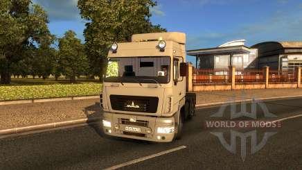 MAZ UNE pour Euro Truck Simulator 2