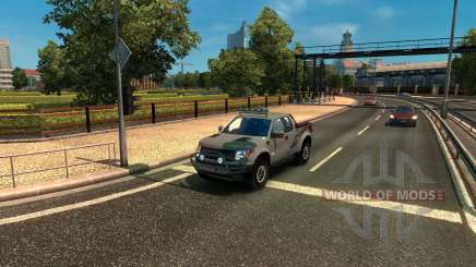 Ford F-150 SVT Raptor pour Euro Truck Simulator 2