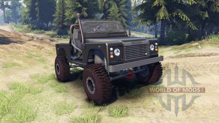 Land Rover Defender 90 [open top] pour Spin Tires