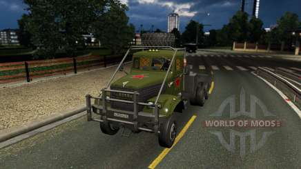Kraz 255 pour Euro Truck Simulator 2