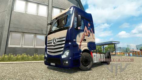 Mercedes-Benz Actros MP4 [Mary Sue Edition] pour Euro Truck Simulator 2